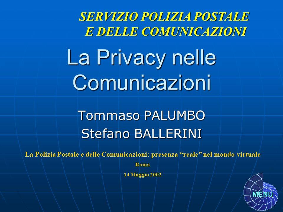 La Privacy nelle Comunicazioni