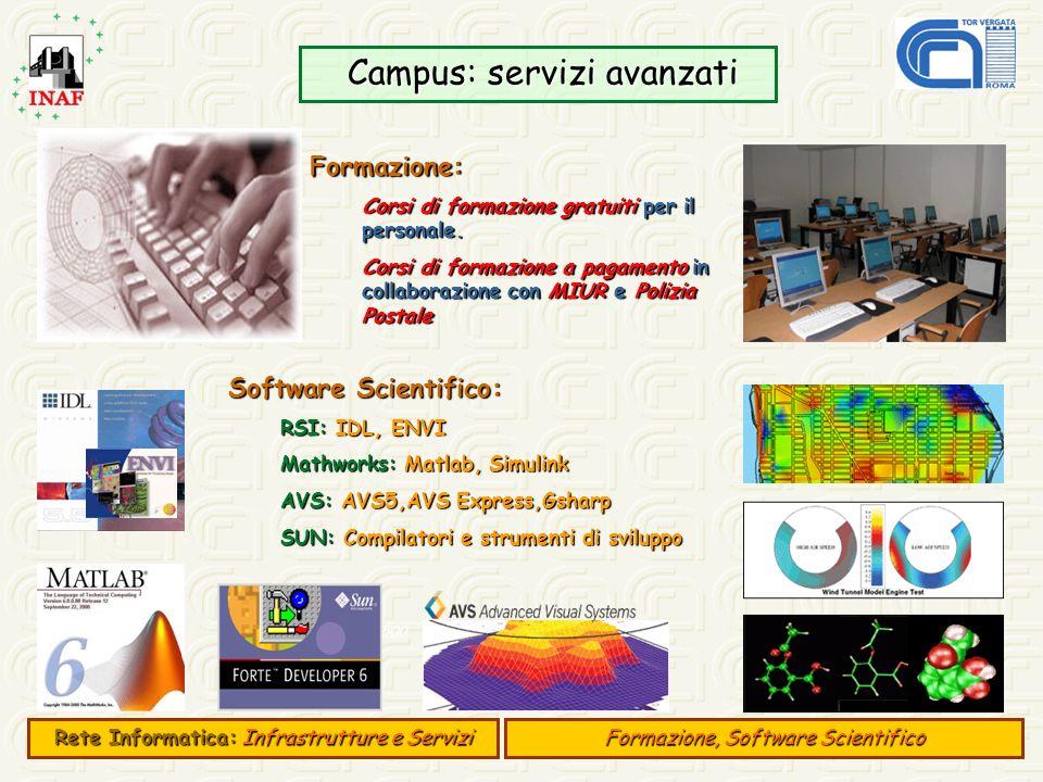 Campus: servizi avanzati