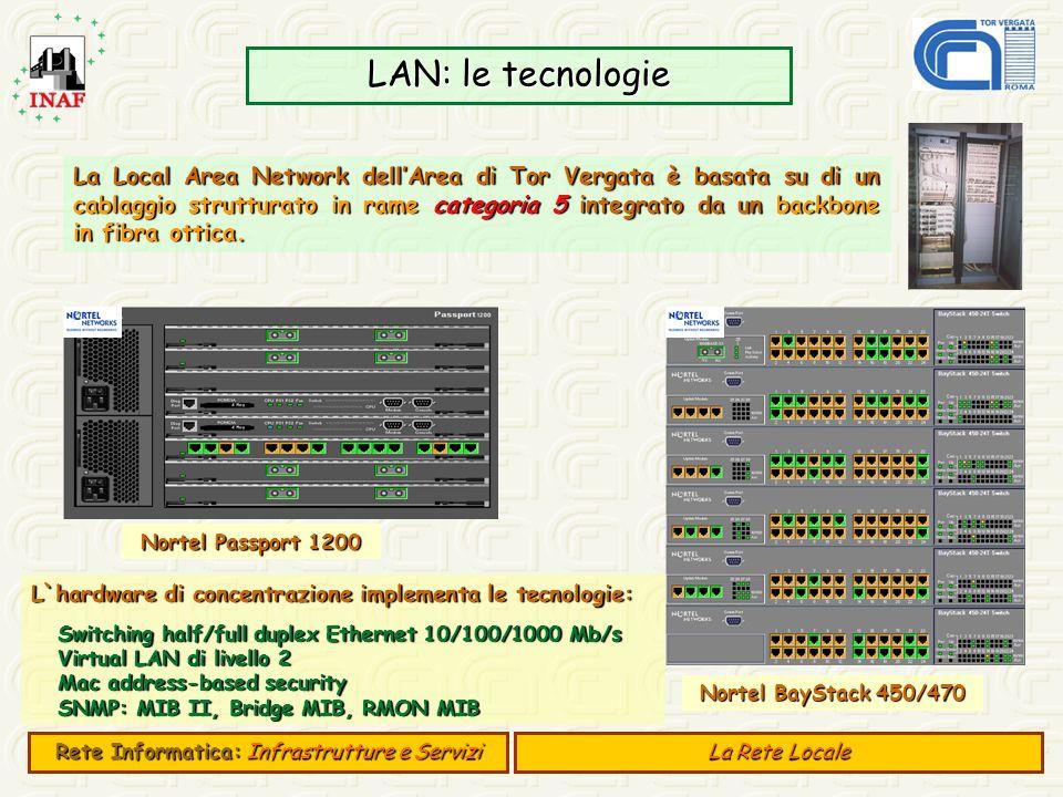 Rete Informatica: Infrastrutture e Servizi