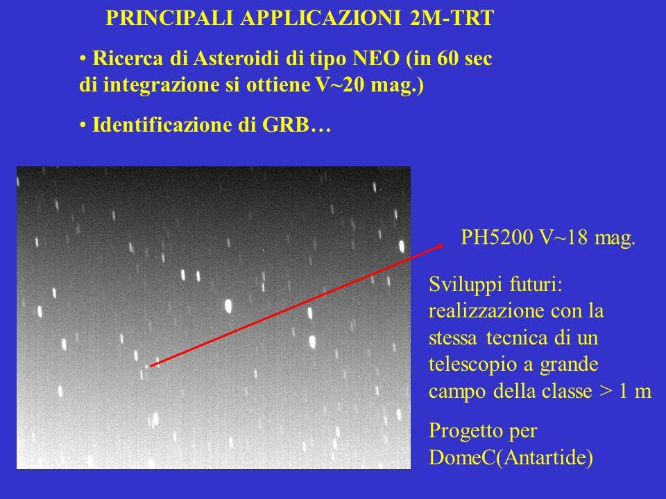 PRINCIPALI APPLICAZIONI 2M-TRT