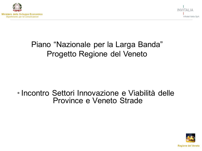 Piano Nazionale per la Larga Banda Progetto Regione del Veneto