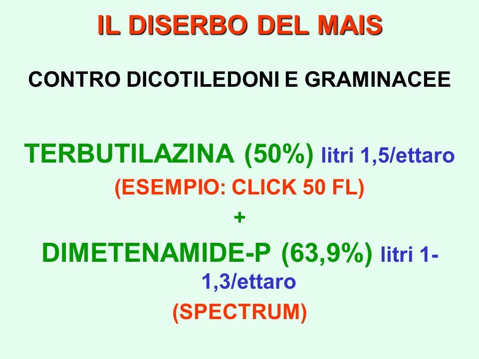 TERBUTILAZINA (50%) litri 1,5/ettaro