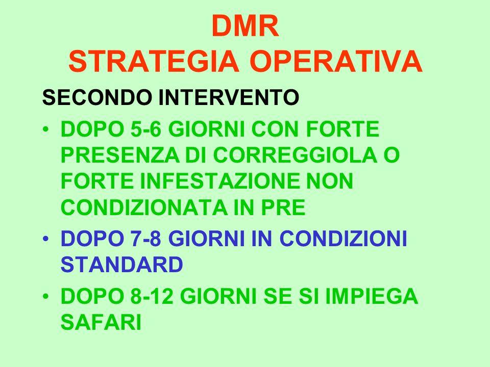 DMR STRATEGIA OPERATIVA