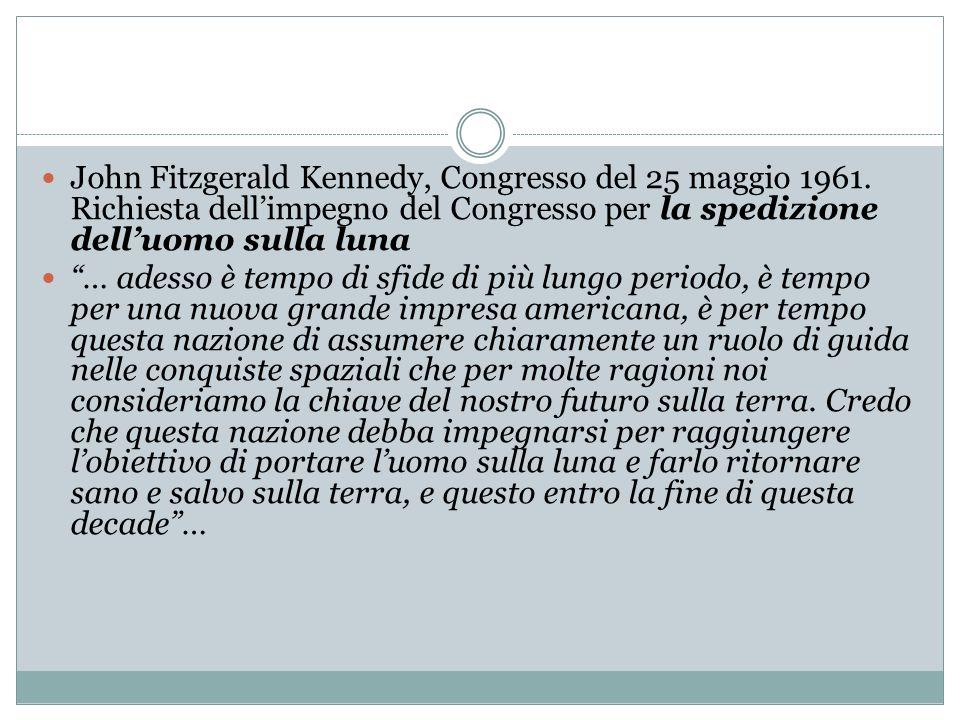 John Fitzgerald Kennedy, Congresso del 25 maggio 1961