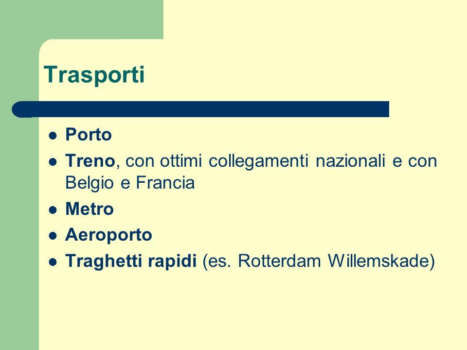 Trasporti Porto. Treno, con ottimi collegamenti nazionali e con Belgio e Francia. Metro. Aeroporto.