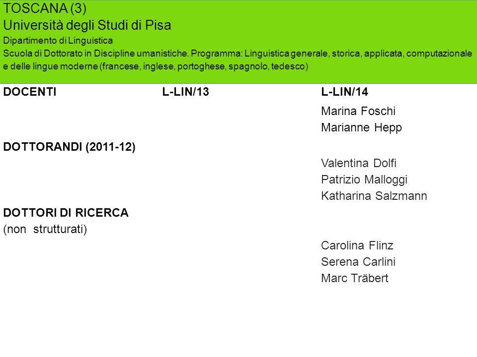 Università degli Studi di Pisa