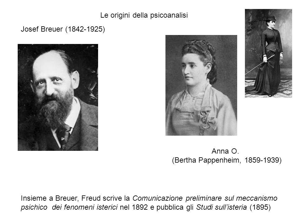 Le origini della psicoanalisi