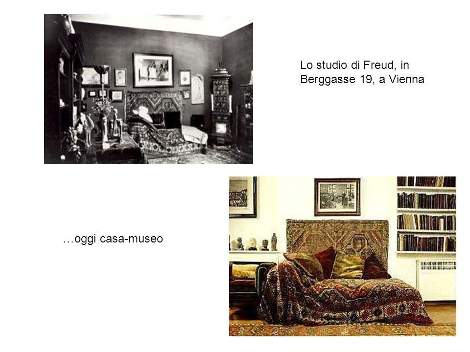 Lo studio di Freud, in Berggasse 19, a Vienna