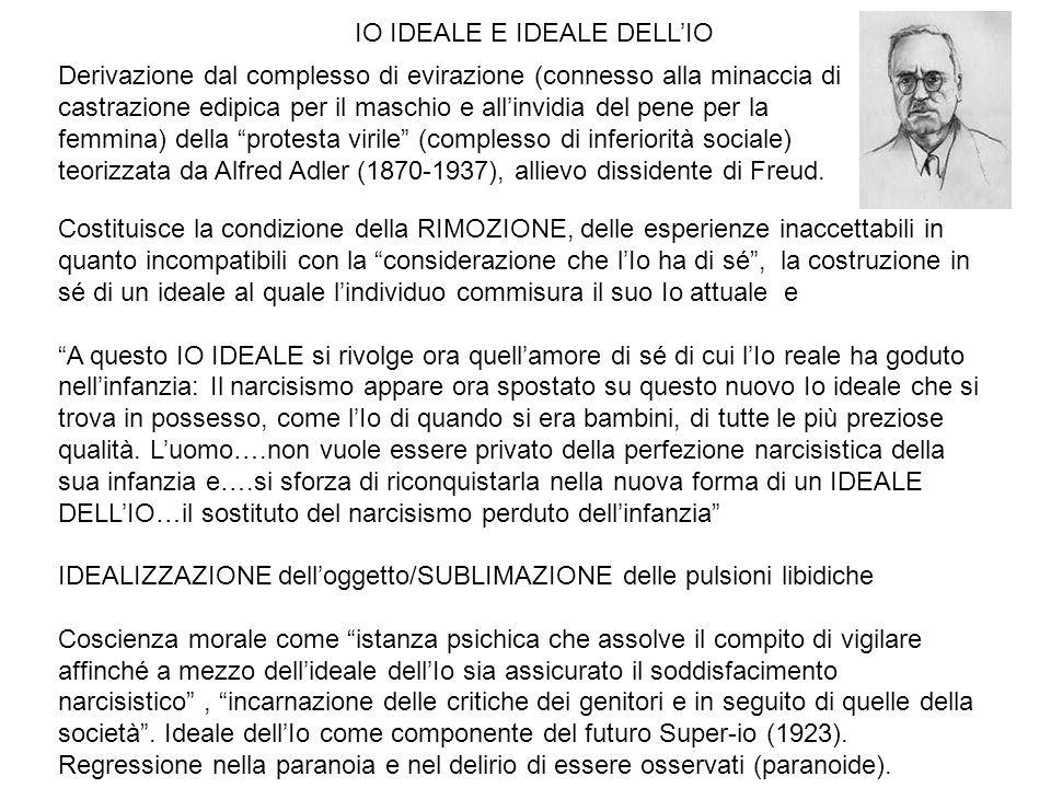 IO IDEALE E IDEALE DELL'IO