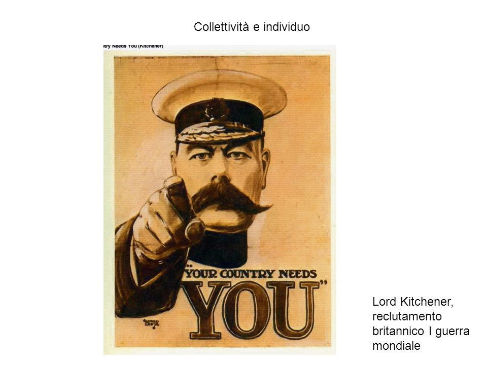 Collettività e individuo