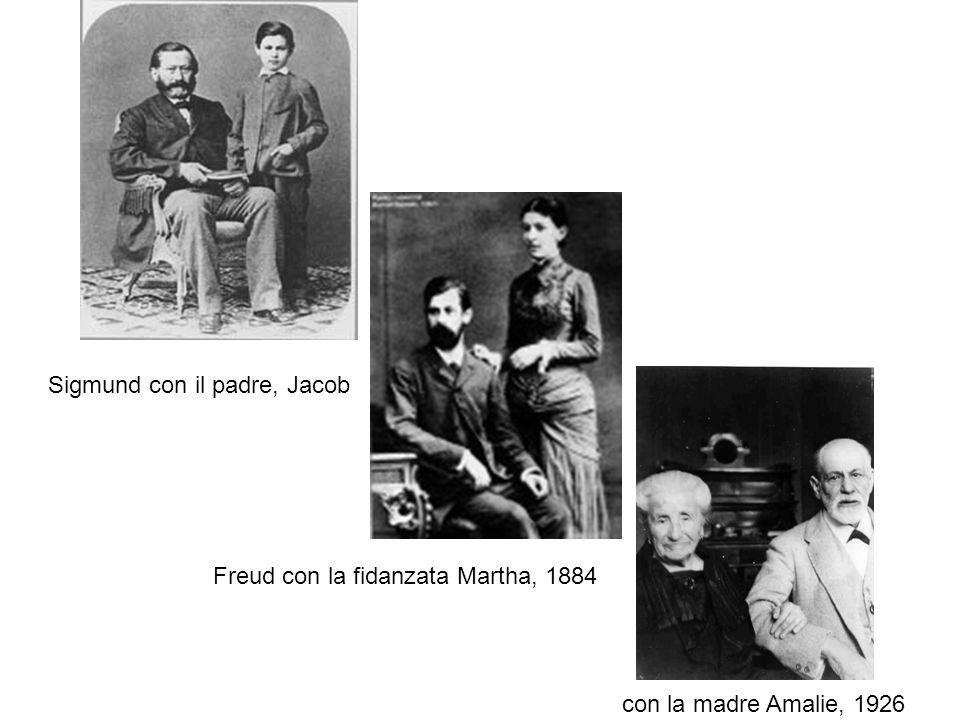 Sigmund con il padre, Jacob