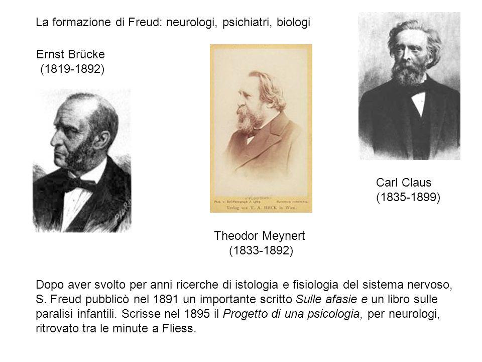La formazione di Freud: neurologi, psichiatri, biologi