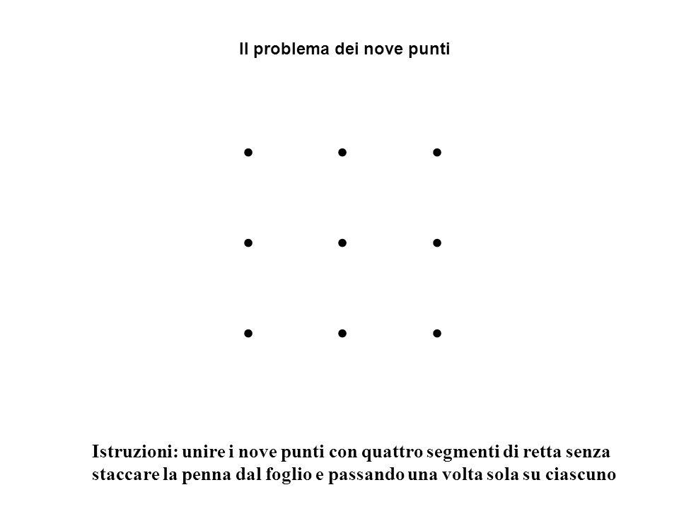 . . . Il problema dei nove punti