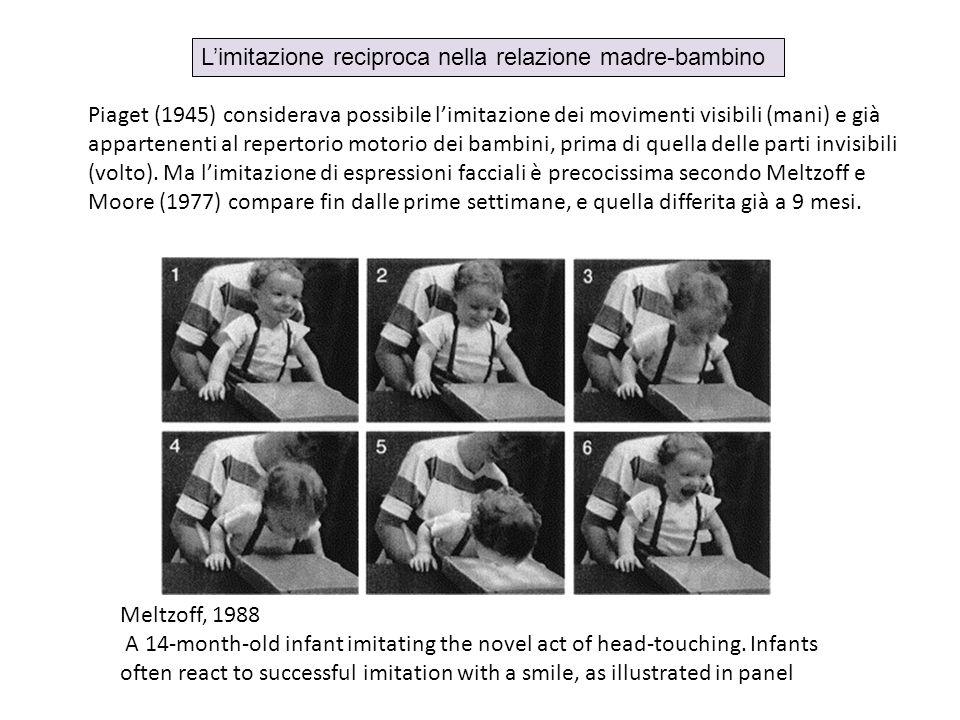 L'imitazione reciproca nella relazione madre-bambino