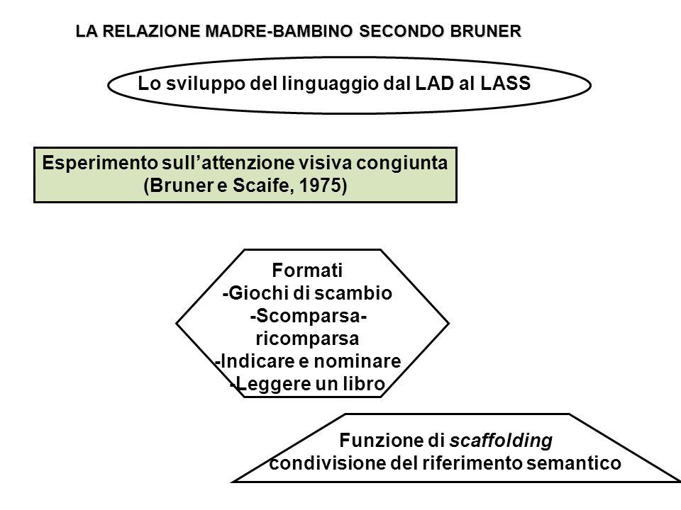 Esperimento sull'attenzione visiva congiunta (Bruner e Scaife, 1975)