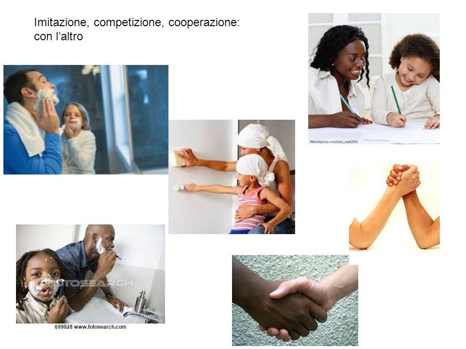 Imitazione, competizione, cooperazione: con l'altro