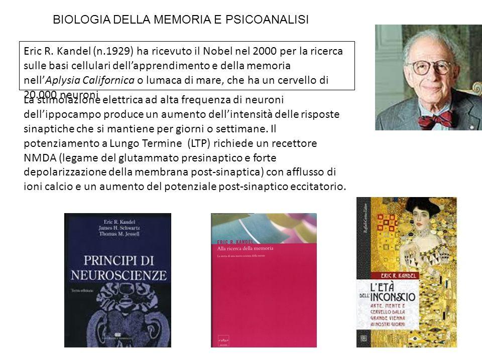 BIOLOGIA DELLA MEMORIA E PSICOANALISI