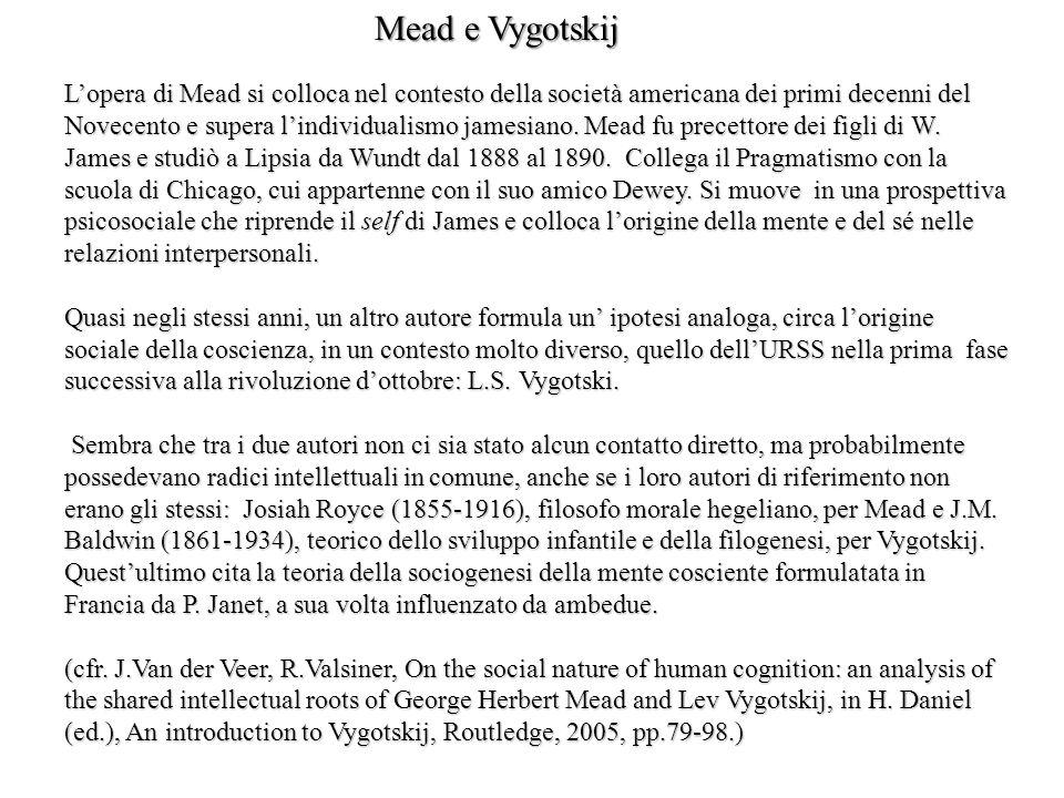 Mead e Vygotskij