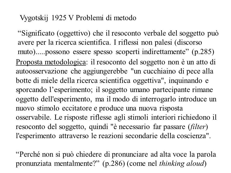 Vygotskij 1925 V Problemi di metodo