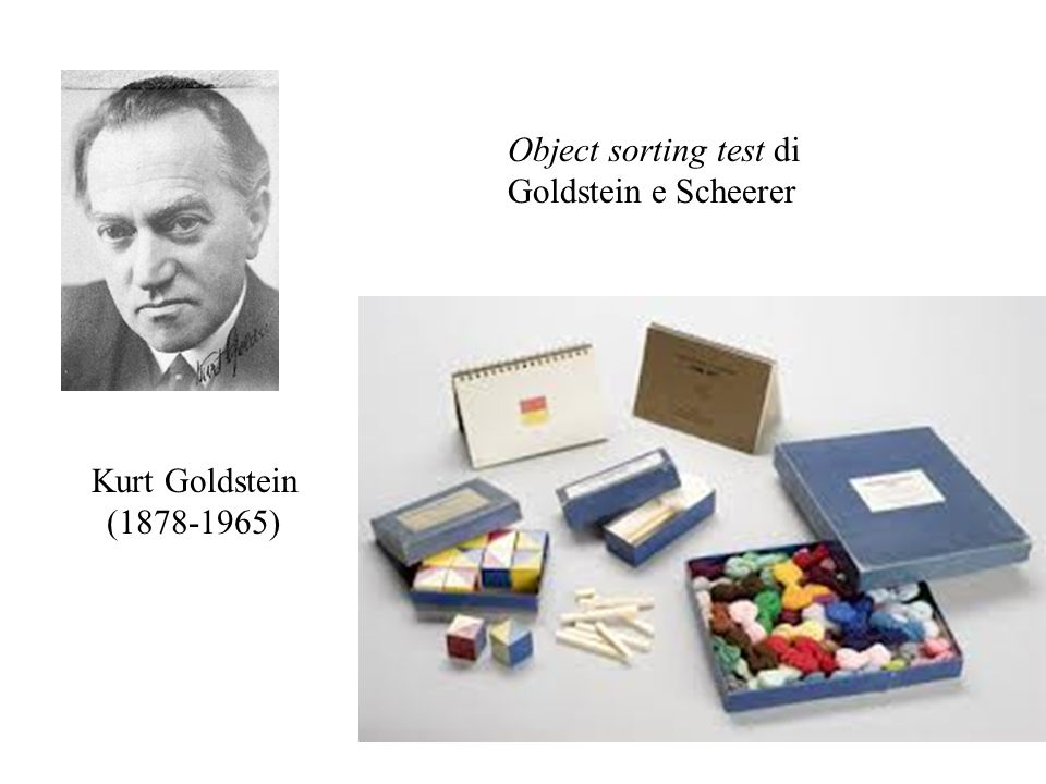 Object sorting test di Goldstein e Scheerer
