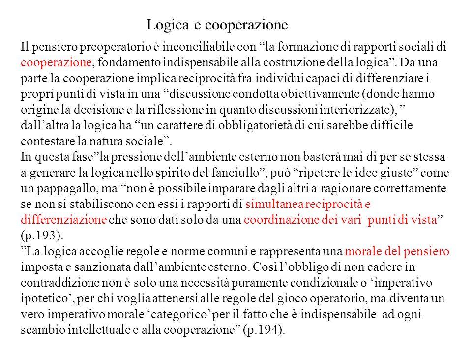 Logica e cooperazione