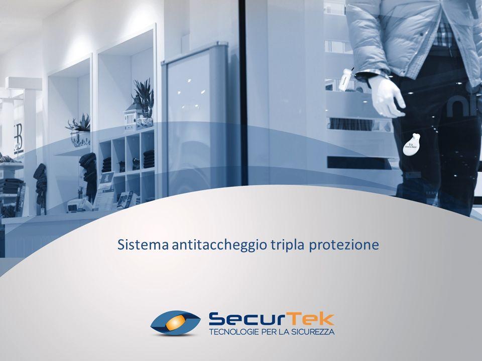 Sistema antitaccheggio tripla protezione