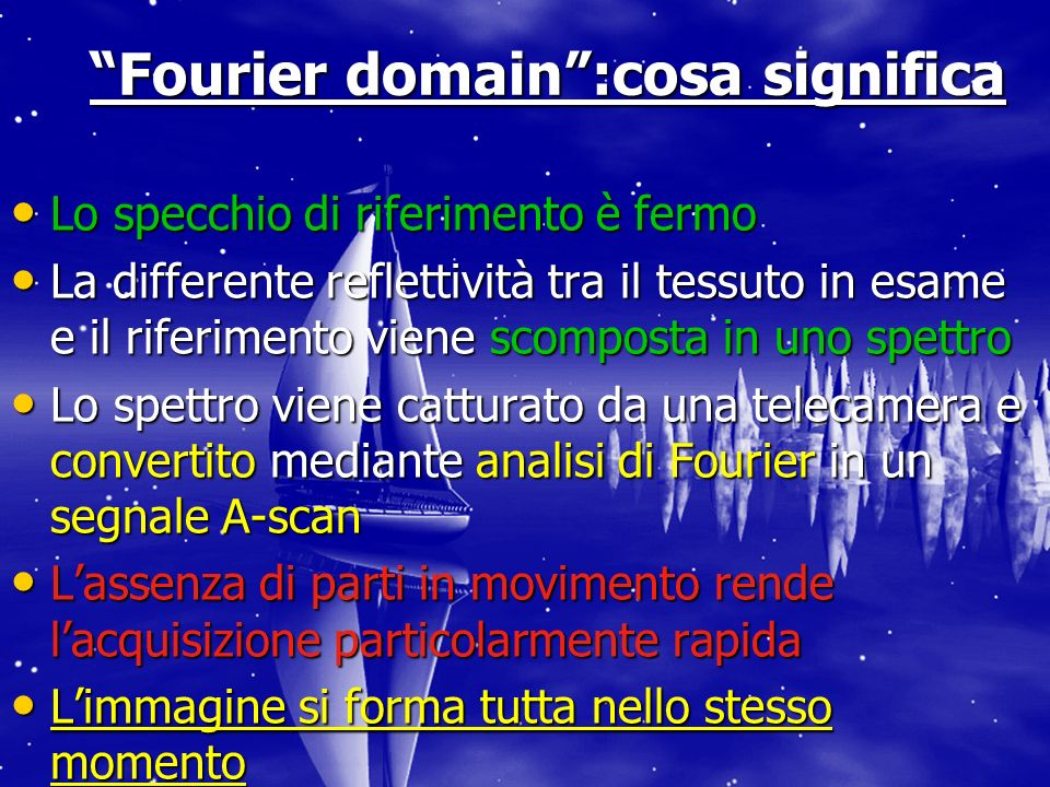 Fourier domain :cosa significa