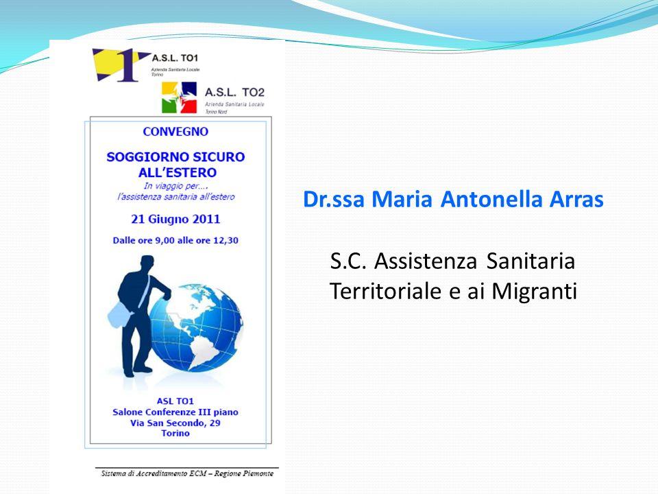 Dr.ssa Maria Antonella Arras