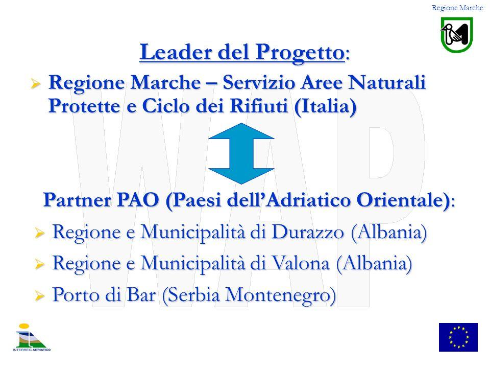 Partner PAO (Paesi dell'Adriatico Orientale):