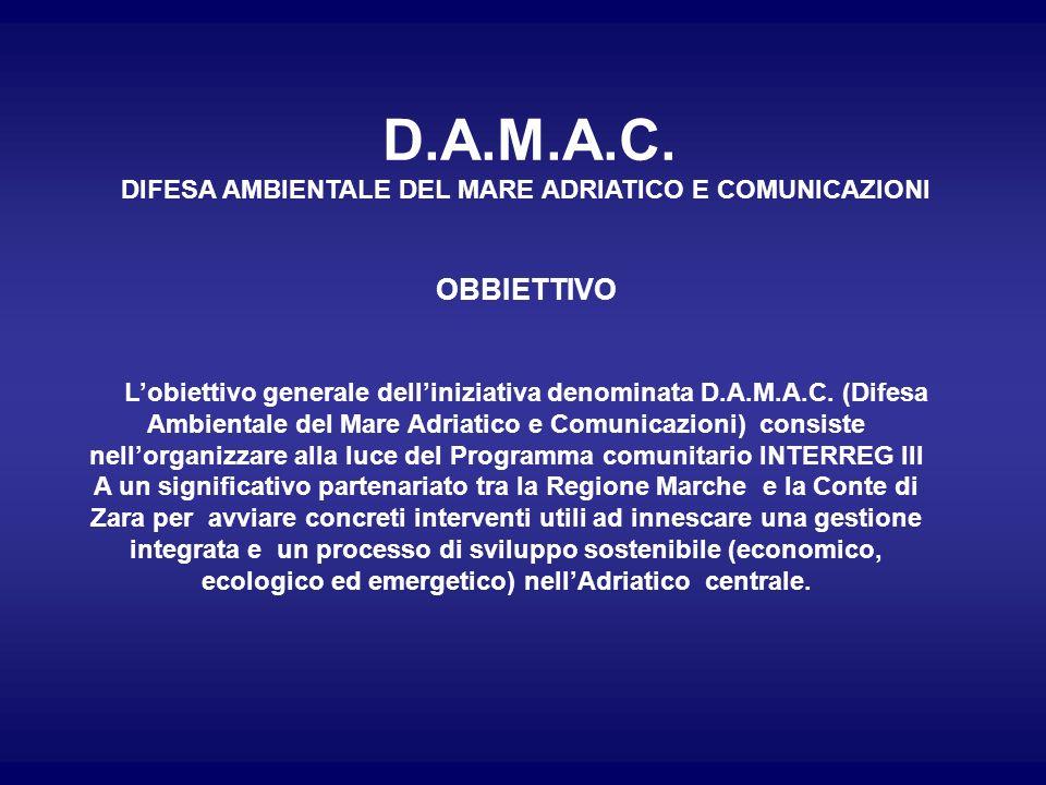 DIFESA AMBIENTALE DEL MARE ADRIATICO E COMUNICAZIONI