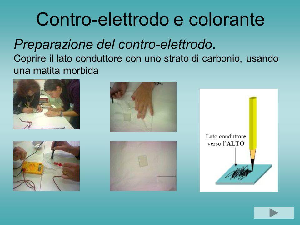 Contro-elettrodo e colorante