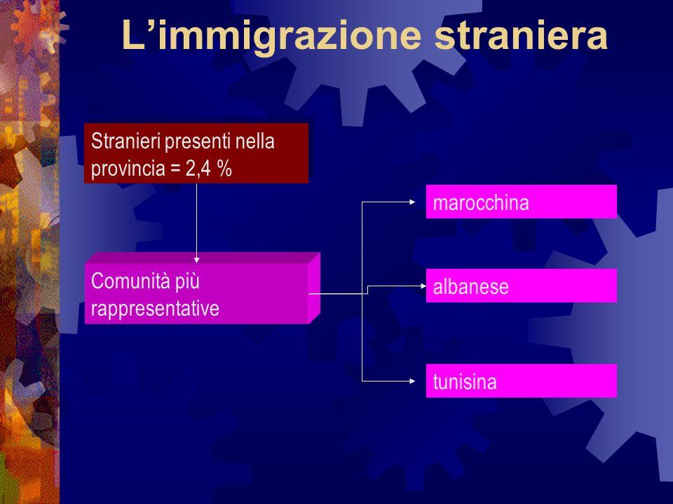 L'immigrazione straniera