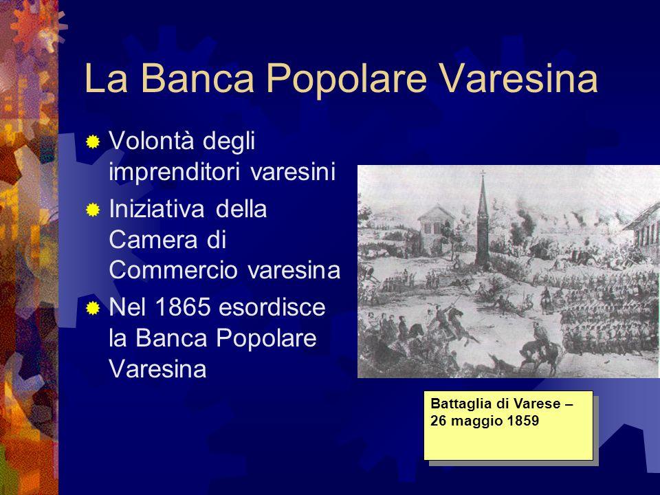 La Banca Popolare Varesina