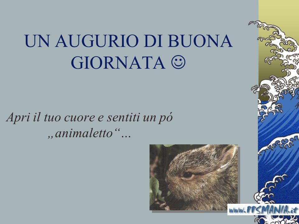 Ben noto UN AUGURIO DI BUONA GIORNATA  - ppt scaricare WB38