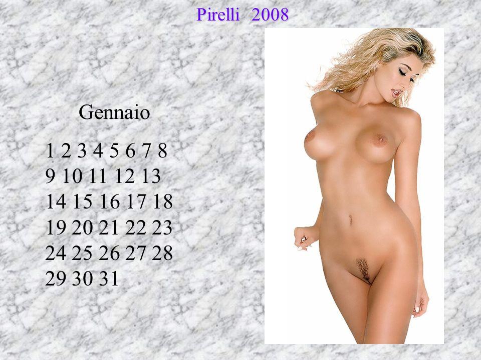 Pirelli 2008 Gennaio.