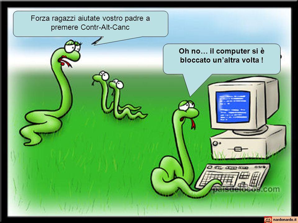 Oh no… il computer si è bloccato un'altra volta !