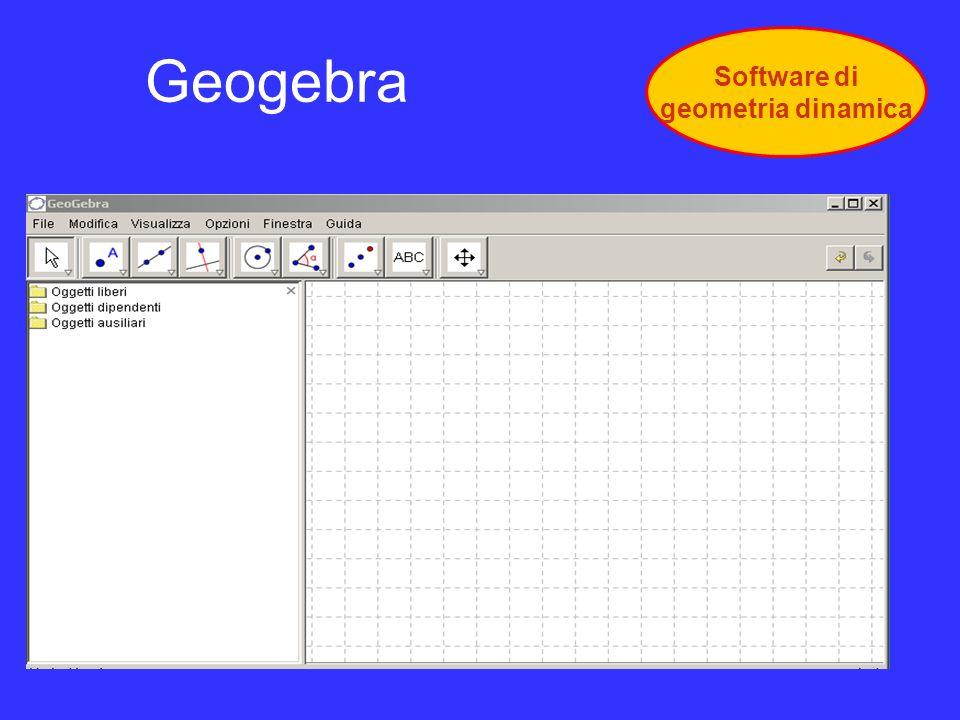 Geogebra Software di geometria dinamica