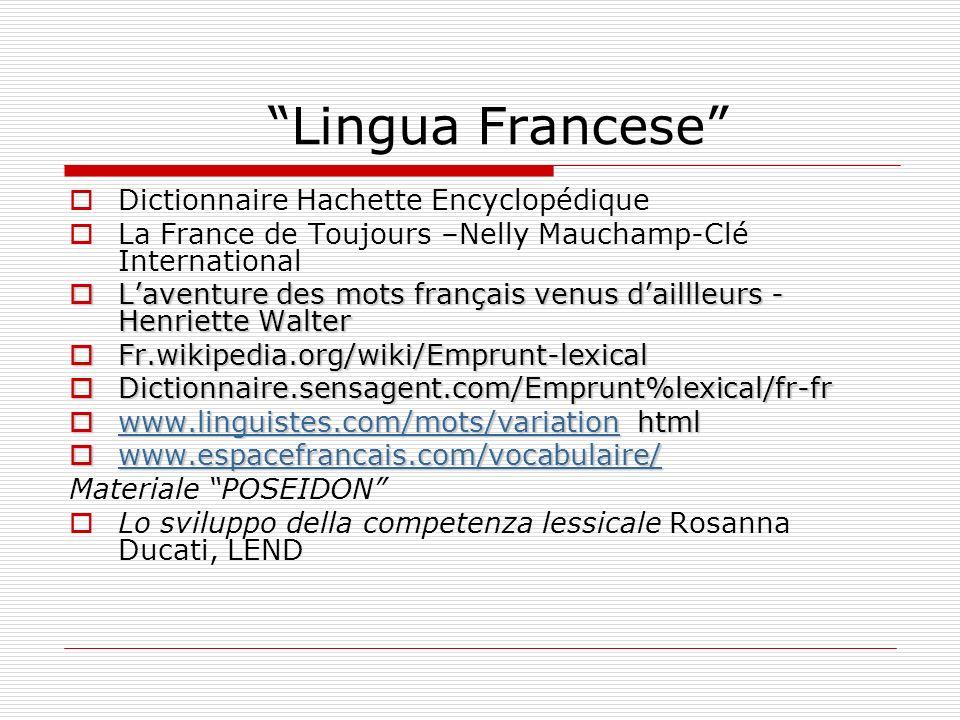 Lingua Francese Dictionnaire Hachette Encyclopédique