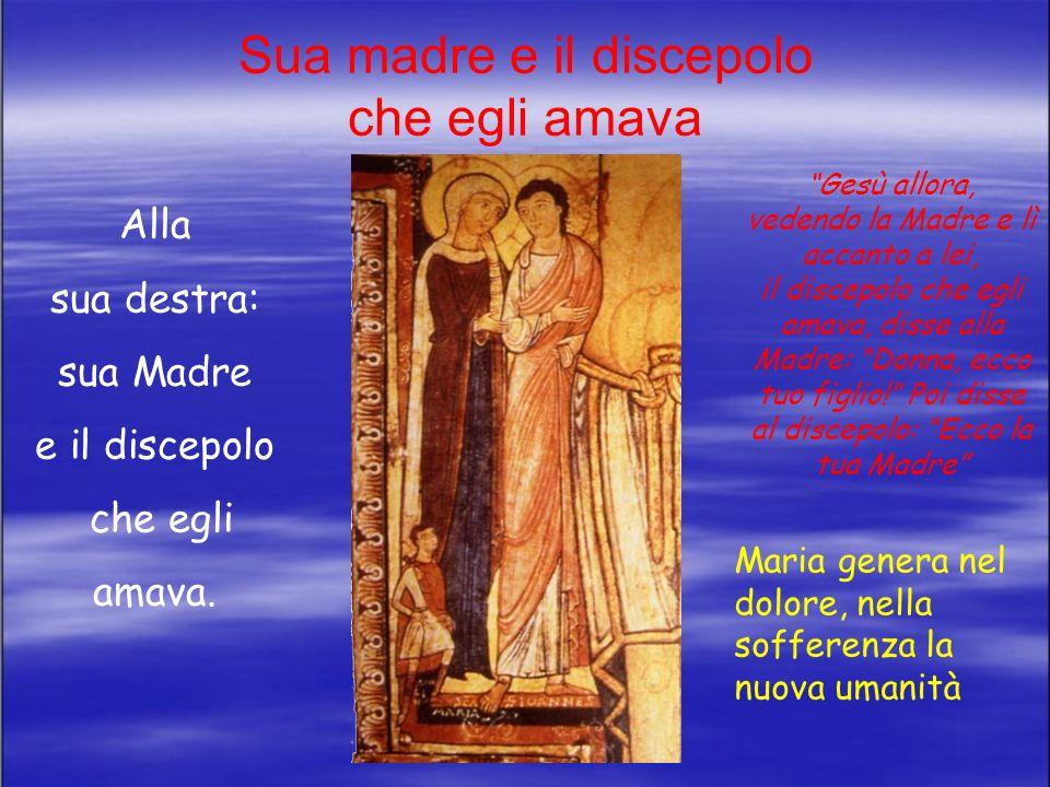 Sua madre e il discepolo che egli amava