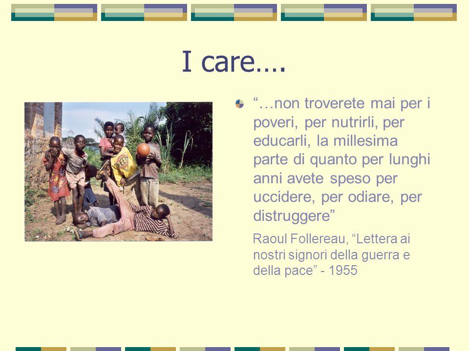 I care….