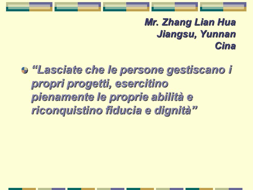 Mr. Zhang Lian Hua Jiangsu, Yunnan Cina