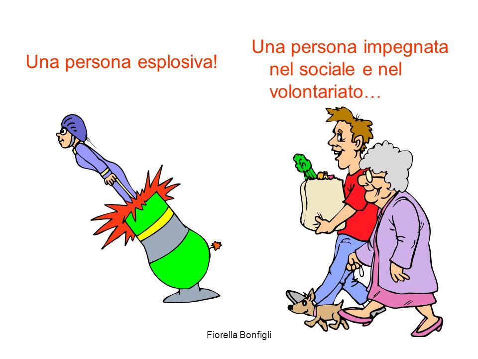 Una persona impegnata nel sociale e nel volontariato…