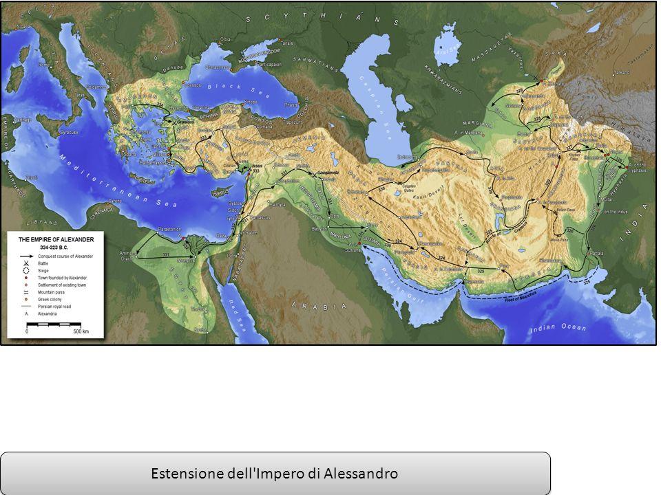 Estensione dell Impero di Alessandro