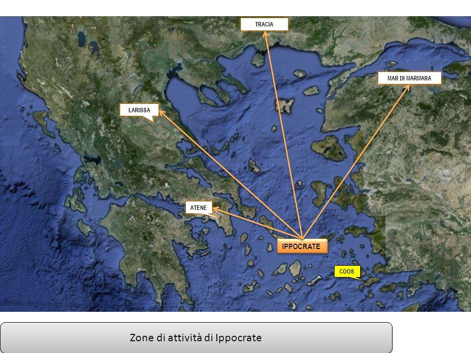 Zone di attività di Ippocrate