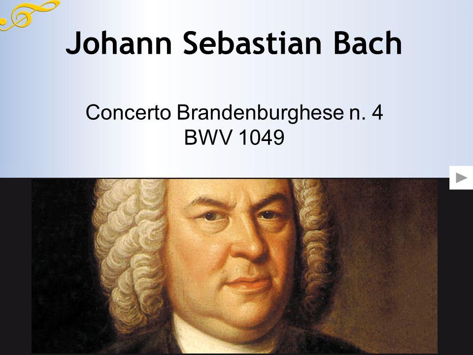 Concerto Brandenburghese n. 4