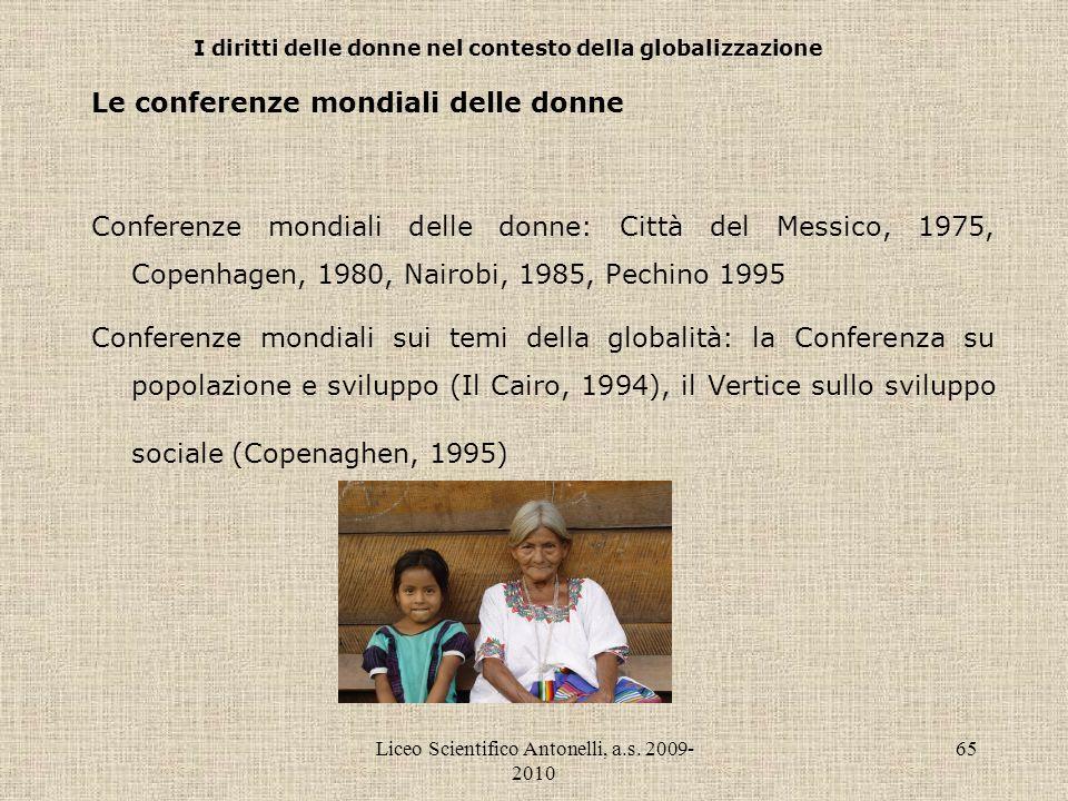 I diritti delle donne nel contesto della globalizzazione