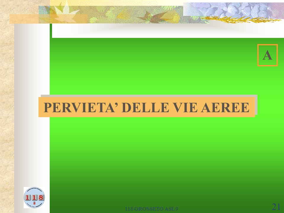 PERVIETA' DELLE VIE AEREE