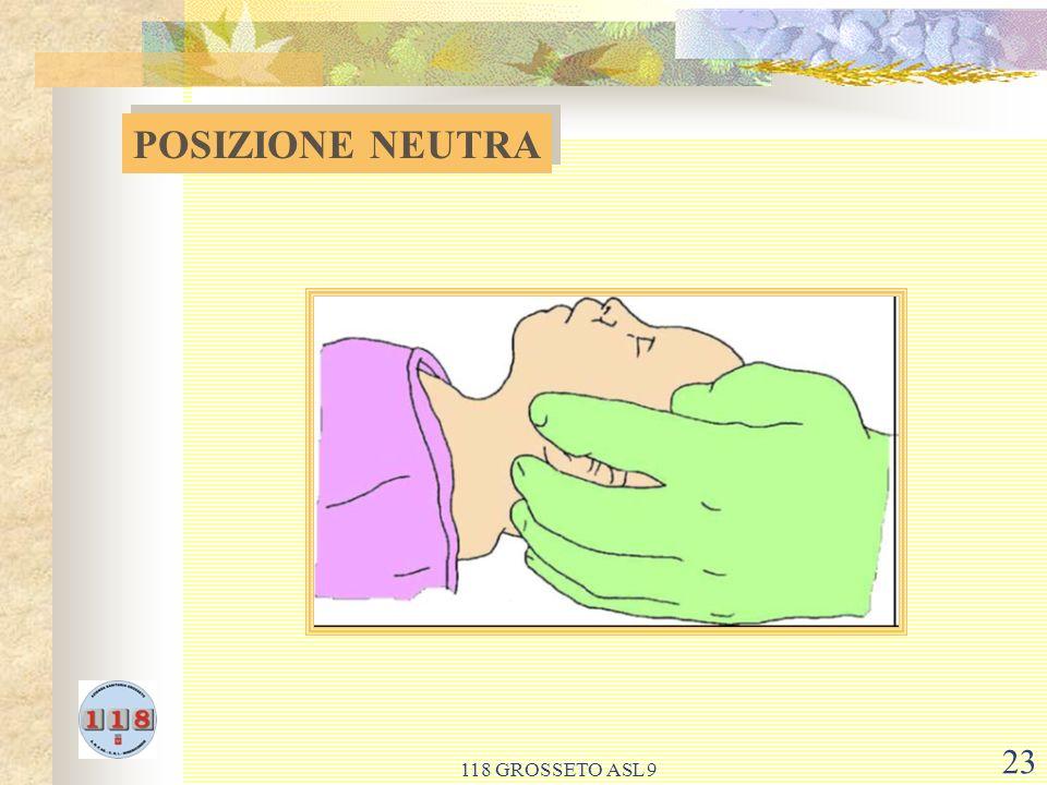 POSIZIONE NEUTRA 118 GROSSETO ASL 9