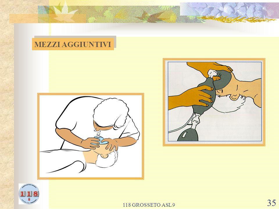 MEZZI AGGIUNTIVI 118 GROSSETO ASL 9