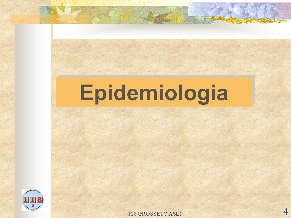 Epidemiologia 118 GROSSETO ASL 9